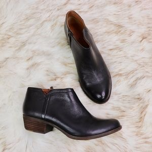 LUCKY BRAND: Leather Short Booties